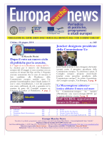 EUROPA NEWS n.148 del 30 / 06 / 2014