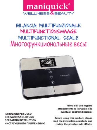 BILANCIA MULT IFUNZIONALE MULT IFUNKT