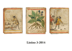 Listino 3-2014 - Libreria Antiquaria Alberto Govi