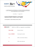 SACE e le PMI: un rapporto consolidato
