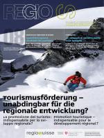 Tourismusförderung – unabdingbar für die regionale