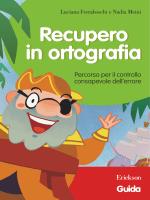 Guida Recupero in ortografia - Edizioni Centro Studi Erickson