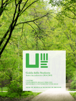 Guida dei Corsi 2014 e 2015 - Università delle Tre Età UNITRE