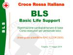 BLS Basic Life Support Folgaria 17 maggio 2014