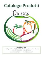 Catalogo Odissea in PDF