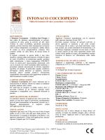 INTONACO COCCIOPESTO - Calchera San Giorgio
