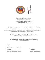 Sorbonne Paris Cité - EleA@UniSA - Università degli Studi di Salerno