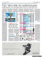 Expo, Albero della vita: cambia il progetto