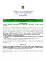 Relazione del Dirigente Scolastico 2013-2014