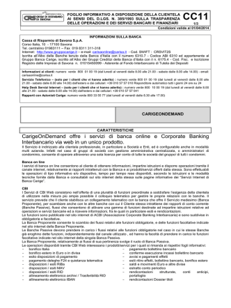 CBI Corporate Banking Interbancario Web