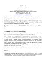 Dr. Marco Stoffella - Tempo, Spazio, Immagine, Società