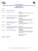 Programma - (IZS) delle Regioni Lazio e Toscana