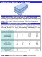 scheda tecnica polistirene espanso azzurro