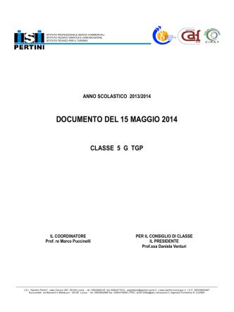 Classe 5G - Sandro Pertini