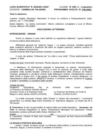 3C - Liceo scientifico Boggio Lera