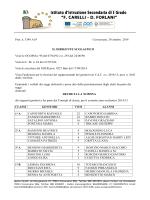 Prot. n. 3349 A19 Conversano, 30 ottobre 2014 IL DIRIGENTE
