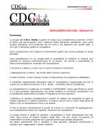 regolamento cdc - CDC Italia