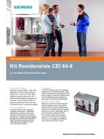 Kit Residenziale CEI 64-8