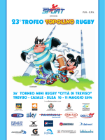"36° torneo mini rugby ""città di treviso"""