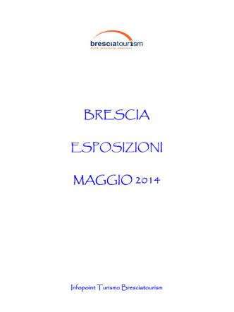 Calendario Aggiornato Esposizioni Maggio 2014