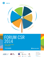 Forum CSR 2014 Programma