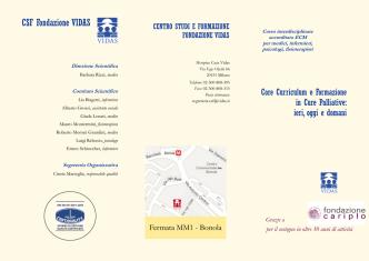 CSF Fondazione VIDAS - Federazione Cure Palliative