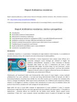 Report Antibiotico resistenza Report Antibiotico resistenza: storia e