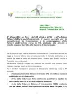 N° 146/2014 - Ordine CDL Napoli