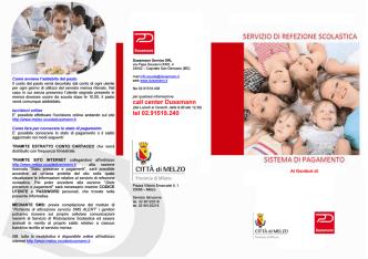 Brochure informativa sistemi di pagamento
