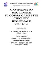 Campionato Regionale Corsa Campestre cu 4
