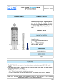 CRN® CRONO® SYRINGE 20 ml SPECIFICATIONS