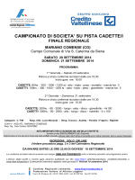 programma - Fidal Lombardia