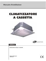 CLIMATIZZATORE A CASSETTA