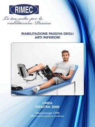 Catalogo Nuova Linea Fisiotek 3000