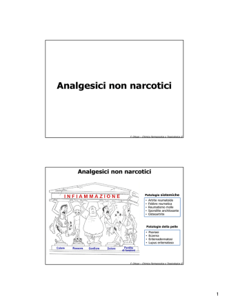 Analgesici non narcotici