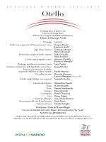 Otello - Teatro Regio di Torino