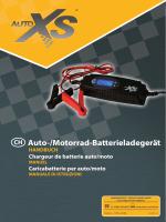 Auto-/Motorrad-Batterieladegerät