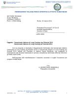 Campionato Italiano di Long Casting per Società 2014