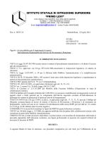Bando rspp 2014-15 - Treviso – Ufficio scolastico territoriale