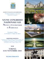 Programma Congresso SIF