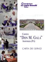 SCARICA LA CARTA DEI SERVIZI DEL CENTRO
