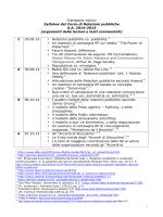 Giampaolo Azzoni Syllabus del Corso di Relazioni pubbliche A.A.