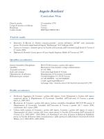 Curriculum vitae (pdf, it, 140 KB, 11/19/14)
