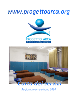 Fondazione Progetto Arca onlus Carta dei Servizi