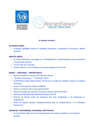 144. ateneonews 3 - Università di Palermo