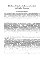 Gli affreschi delle ville Correr e Lantieri tra Friuli e