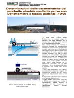 Prova Deflettometrica FWD -Iitaliano