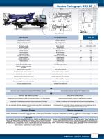 Double Pantograph GDX 20
