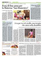 """Festa di fine anno per la Materna """"San Domenico"""""""