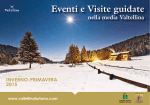 Eventi e Visite guidate - Consorzio Turistico Valtellina Terziere